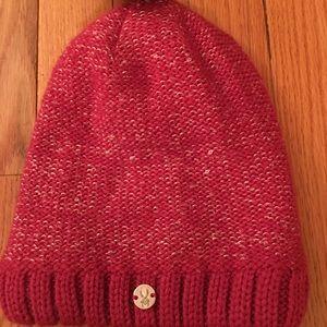 Spyder Pink NWT knit hat